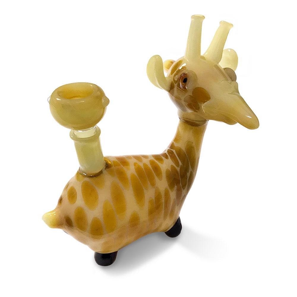 The Cute Giraffe Water Pipe - Green Goddess Supply