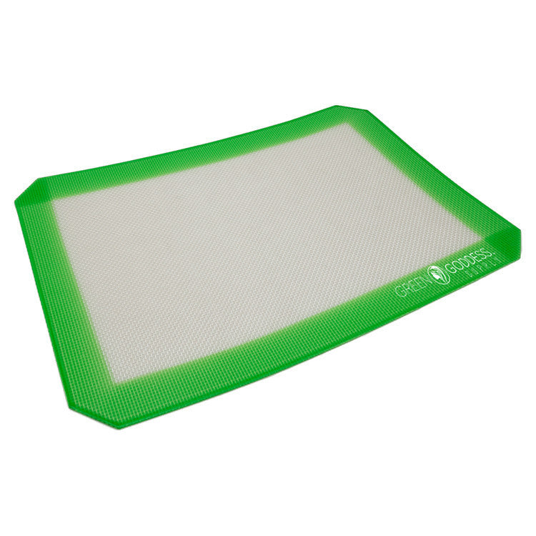 "Non-Stick Silicone Mat (8""x12"") - Green Goddess Supply"