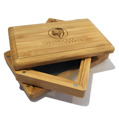 Mini Bamboo Pollen Sifter Box - Green Goddess Supply