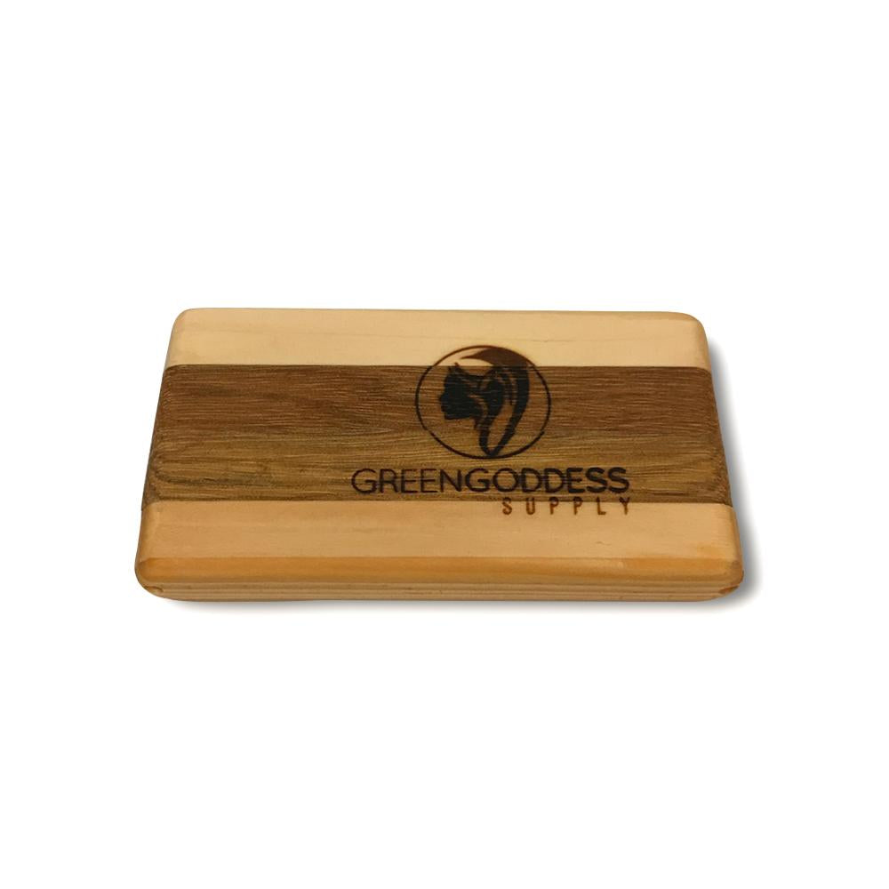 PotPocket - Handmade Wooden Holder for Cigarettes, Joints, Blunts and Cones - Green Goddess Supply