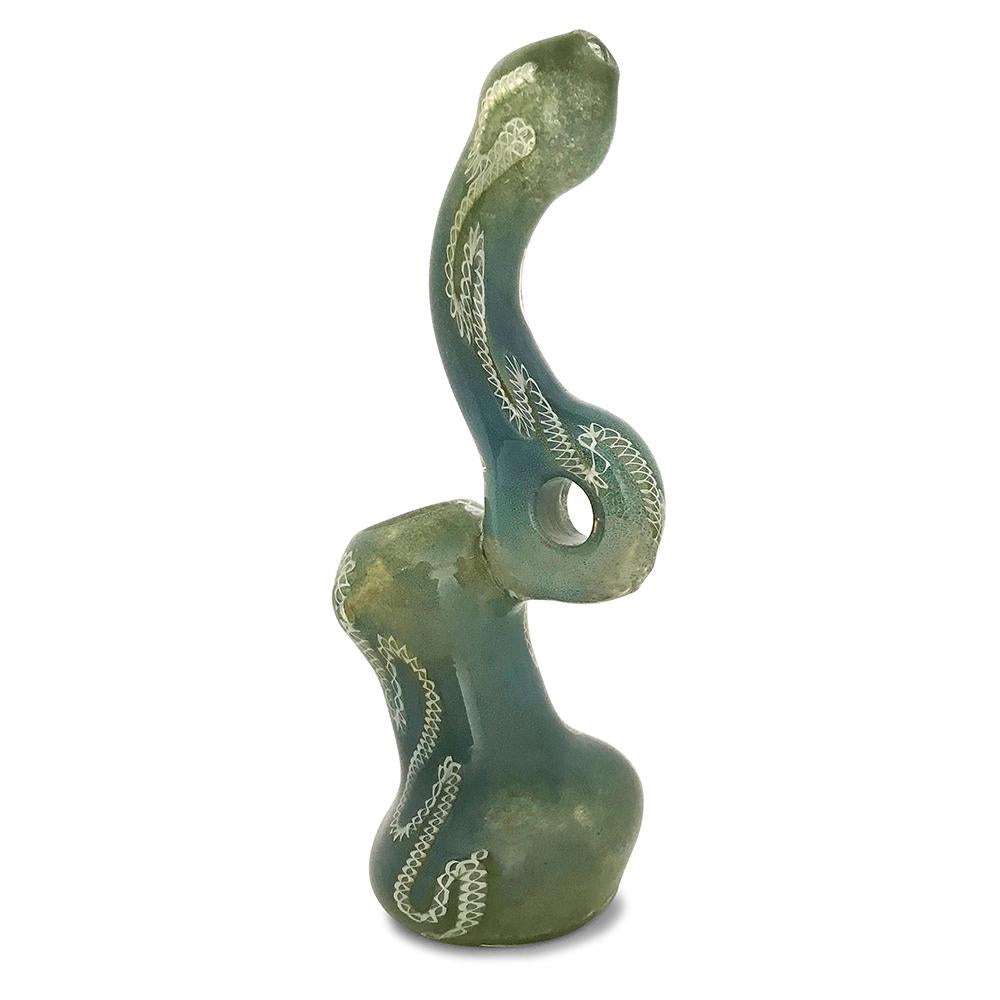 The Green Envy Bubbler - Green Goddess Supply
