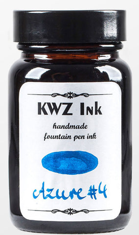 KWZ Azure #4 - (60 mL Bottled Ink)