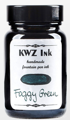 KWZ Foggy Green - (60 mL Bottled Ink)