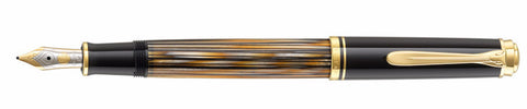 Pelikan M400 Tortoise Brown Fountain Pen - Special Edition