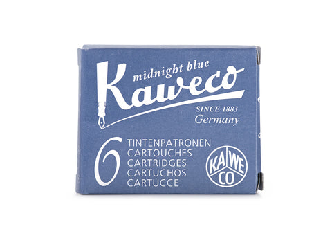 Kaweco Midnight Blue Ink Cartridges (6)