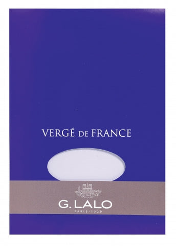 G. Lalo Vergé de France A5 Stationary Tablet - White