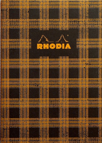 Rhodia Heritage Sewn Spine Notebook - Tartan, Lined (6 x 8 1/4)