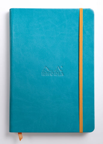 Rhodia Rhodiarama Webnotebook Hardcover A5 (5.5 x 8.25) - Various Colors