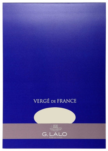 G. Lalo Vergé de France A4 Stationary Tablet - Champagne