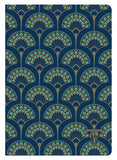 Clairefontaine Neo Deco Lined Notebook - Peacock (A5)