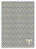 Clairefontaine Neo Deco Lined Notebook - Honeycomb (A5)
