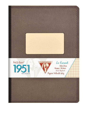 Clairefontaine 1951 Collection Clothbound Lined Notebook A5 - (96 sheets)
