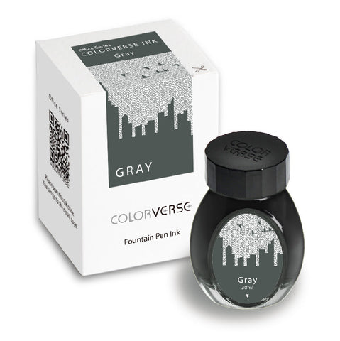 Colorverse Office Series - Gray (30 mL Bottled Ink)