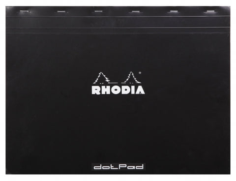Rhodia No. 38 Black Dot Pad - (16 1/2 x 12 1/2)