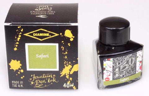 Diamine 150th Anniversary Ink Safari