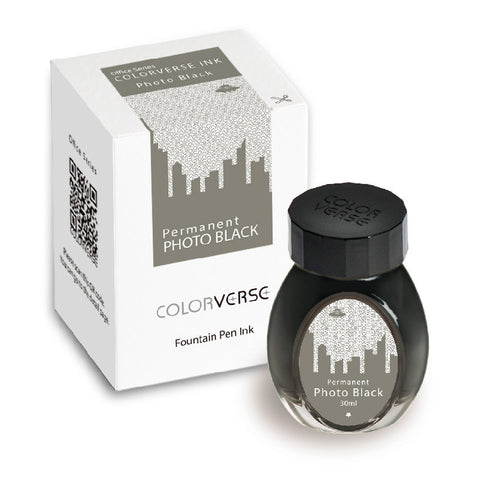 Colorverse Office Series - Permanent Photo Black (30 mL Bottled Ink)