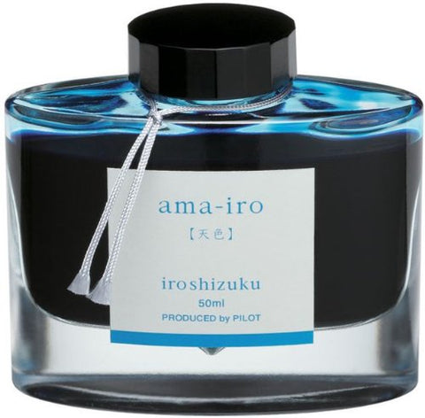 Pilot Iroshizuku Ama-Iro (Light Sky Blue) 50ml Bottled Ink