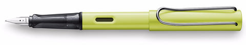 Lamy Charged Green Al-Star Fountain Pen - 2016 Special Edition