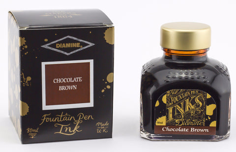 Diamine Chocolate Brown Ink