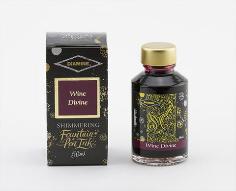 Diamine Shimmer Ink - Wine Divine