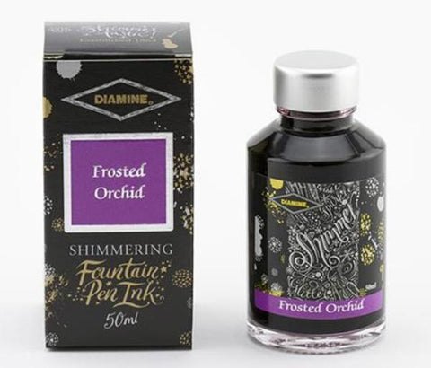 Diamine Shimmer Ink - Frosted Orchid