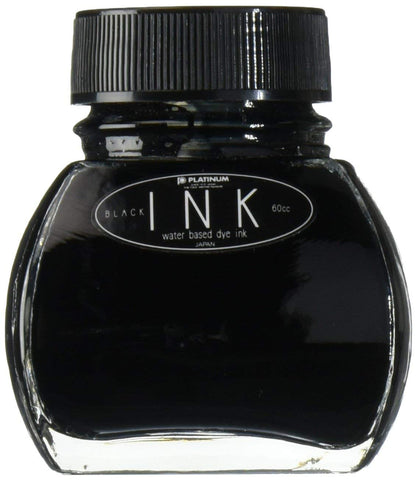 Platinum Black - 60ml Bottled Ink