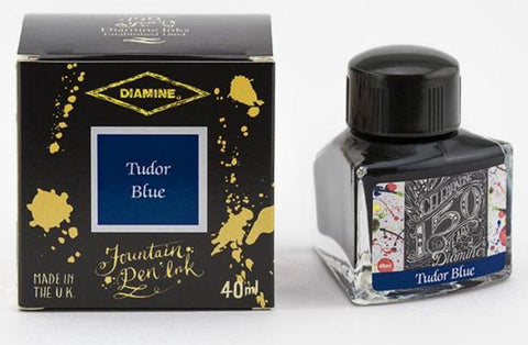 Diamine 150th Anniversary Ink Tudor Blue