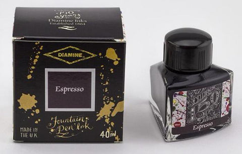 Diamine 150th Anniversary Ink Espresso