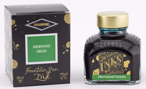 Diamine Sherwood Green Ink