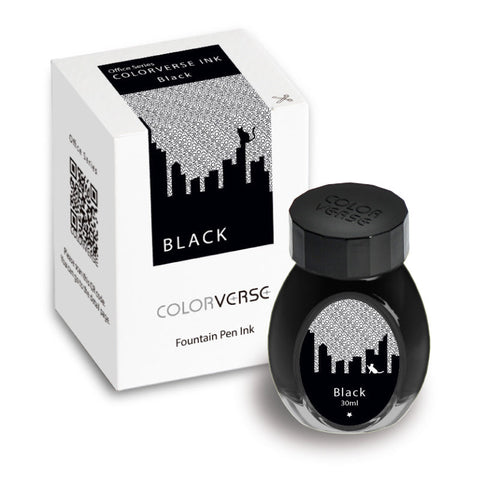 Colorverse Office Series - Black (30 mL Bottled Ink)
