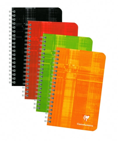 "Clairefontaine Wirebound Lined Notebook (4.25 x 6.75"")"