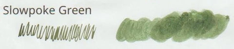 Straits Pen Honest Ink - Slowpoke Green (30 mL Bottled Ink)