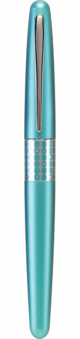 Pilot MR Metropolitan Fountain Pen - Retro Pop - Aquamarine / Dots - Lemur Ink