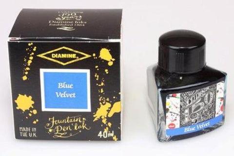 Diamine 150th Anniversary Ink Blue Velvet