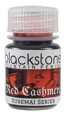 Blackstone Red Cashmere SuSeMai Ink - (30 mL Bottle)