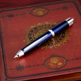 Pilot Vanishing Point LS Fountain Pen - Blue / Rhodium