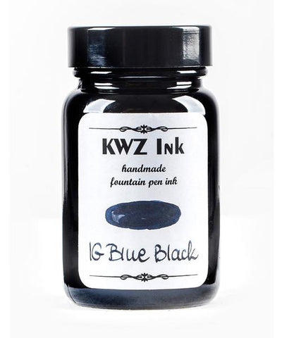 KWZ Iron Gall Blue-Black (60 mL Bottled Ink)