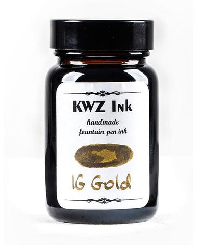 KWZ Iron Gall Gold (60 mL Bottled Ink)