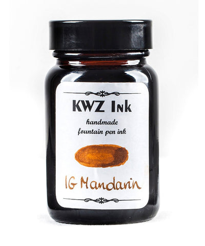 KWZ Iron Gall Mandarin (60 mL Bottled Ink)