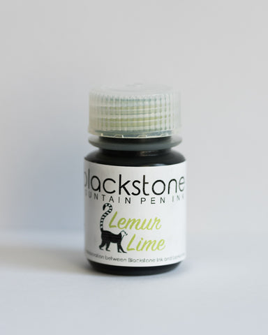 Blackstone Lemur Lime Ink (30ml bottle)