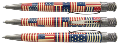 Retro 51 Tornado Rollerball Pen - The Patriot