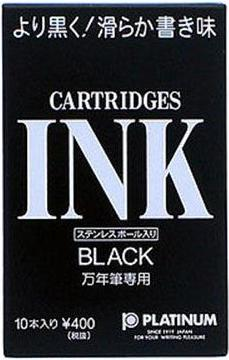 Platinum Black - Ink Cartridges (10)