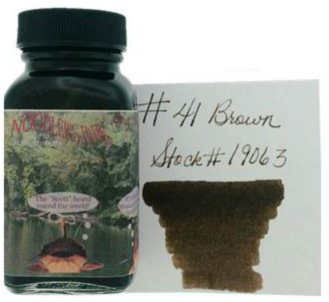 Noodler's #41 Brown Ink (3 oz Bottle)
