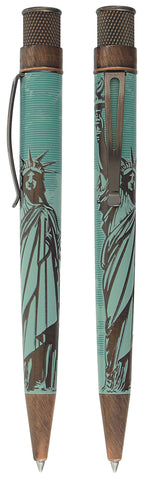 Retro 51 Tornado Rollerball Pen - Statue of Liberty