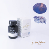 Vinta Inks Cosmic Blue [Kosmos 1955] (Shimmer) - 30 mL bottled ink