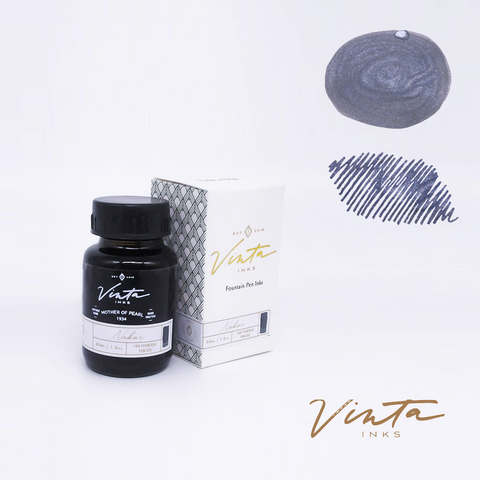 Vinta Inks Mother of Pearl [Nakar 1934] (Shimmer) - 30 mL bottled ink