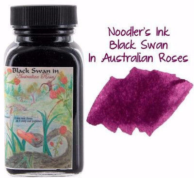 Noodler's Black Swan Australian Roses Ink (3 oz Bottle)