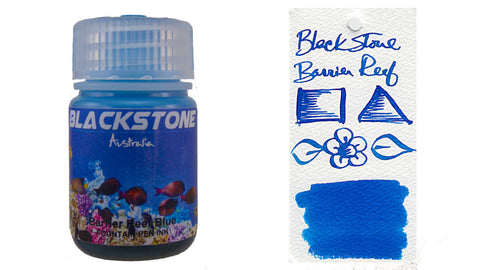 Blackstone Barrier Reef Blue Ink (30ml Bottle)