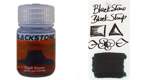 Blackstone Black Stump Ink (30ml bottle)