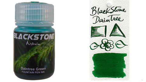 Blackstone Daintree Green Ink (30ml bottle)